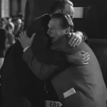 "One of the ending scenes from the movie ""Schindler's List"""