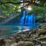 Costa Rica Waterfall Guanacaste