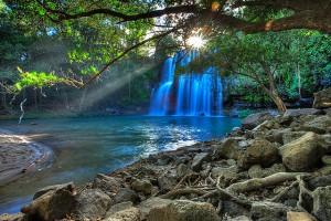 Costa Rica Waterfall Guanacaste