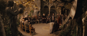 "Council of Elrond, ""Lord of the Rings"""