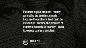 money-scarcity
